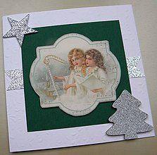 Papiernictvo - Vianočná pohľadnica - 5929664_