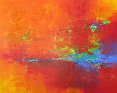 "Abstract painting 486010 by Martin Figlinski Acrylic ~ 48"" x 60"" $2500"