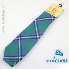 Irvine Tartan Tie. Free Worldwide Shipping Available