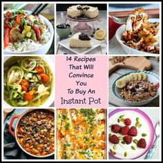 I've got 14 Instant Pot recipes that are beyond delicious, super easy to make and will speed up your prep and cook time like never before!