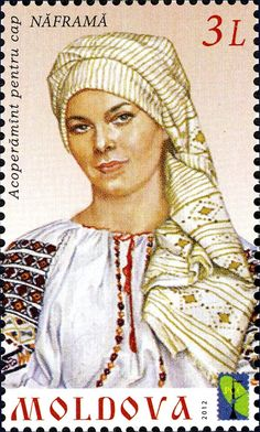 Stamp: Woman in traditional costume (Moldova) (Traditional Costumes) Mi:MD 774 Folk Costume, Costumes, Folk Clothing, Moldova, Stamp Collecting, Eastern Europe, Postage Stamps, Romania, Eagles