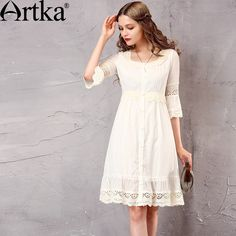 Like and Share if you want this  Artka New White Lace Patchwork O-Neck Puff Sleeve Empire Waist All-match Dress     Tag a friend who would love this!     FREE Shipping Worldwide | Brunei's largest e-commerce site.    Get it here ---> https://mybruneistore.com/artka-womens-spring-new-white-lace-patchwork-cotton-dress-vintage-o-neck-puff-sleeve-empire-waist-all-match-dress-la10660c/
