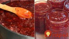 SUPER recept na domácu marmeládu uvarenú za 5 minút, ktorý by mal vedieť každý! Cookbook Recipes, Wine Recipes, My Recipes, Dessert Recipes, Desserts, Bolet, Russian Recipes, Better Life, Bon Appetit