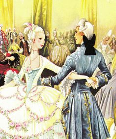 Janet and Anne Grahame Johnstone did the most beautiful fairytale illustrations ever. Cinderella