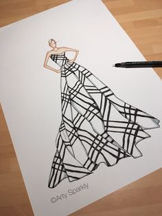 Ideas fashion drawing dresses sketches haute couture Source by seventyfivezoran drawing Dress Design Drawing, Dress Design Sketches, Fashion Design Sketchbook, Fashion Design Drawings, Fashion Sketches, Dress Illustration, Fashion Illustration Dresses, Fashion Drawing Dresses, Dresses Art