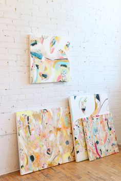 Paintings by Zoe Boivin - Sold via Baba Souk