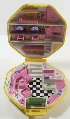Polly pocket vintage. Hair salon