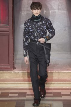 See the Lanvin autumn/winter 2015 menswear collection