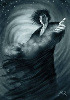 Sandman - Morpheus.....a god of dreaming...one of the Endless
