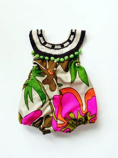 Hawaiian Summer Romper