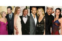 Blake Shelton ♡ Miranda Lambert ☆ Keith Urban ♡ Nicole Kidman ☆ Tim McGraw ♡ Faith Hill ☆ Brad Paisley ♡ Kimberly Williams - Paisley ;)