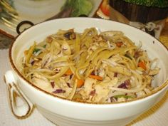 Chicken Lo Mein..flavor was amazing!  I changed the type of noodles, and just did chicken and noodles for the kids.