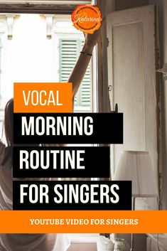 7 step vocal routine for voice users and singers. Warm up your voice gently in the morning. Vocal Warm Up Exercises, Singing Exercises, Learn Singing, Singing Tips, Workout Warm Up, Breathing Techniques, Wake Up, The Voice, Improve Yourself