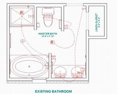 Bathroom Layouts With Walk In Shower i like this simple plan for a master bath, small yet useful