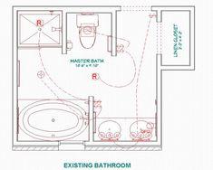 Bathroom Plans Free 9x13 Master Bathroom Floor Plan With Oval Bathroom Pinterest Bathroom Floor Plans Bathroom Pla