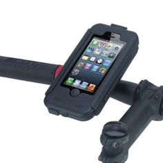 Tigra Sport BikeConsole Bike Mount for iPhone 5 Black * More info could be found at the image url. This is an Amazon Affiliate links.
