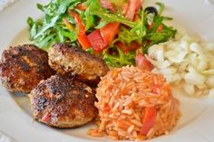 Free Image on Pixabay - Meatballs, Meat, Minced Meat Sauce Recipes, Seafood Recipes, Chicken Delivery, Patties Recipe, Romanian Food, Rice Salad, Middle Eastern Recipes, Salad Ingredients, Rotisserie Chicken