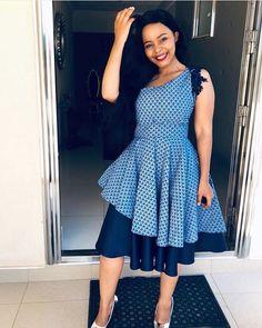 Beautiful Shweshwe Dresses 2019 Shweshwe Dresses 2019 - This Beautiful Shweshwe Dresses 2019 photos was upload on February, 29 2020 by admin. Here latest Shweshwe Dresses 2019 photos South African Dresses, African Bridesmaid Dresses, African Wedding Attire, African Attire, African Fashion Dresses, African Clothes, African Wear, African Style, Setswana Traditional Dresses
