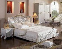WYPRZEDAŻ! Komplet sypialniany łóżko skóra drewno + 2 szafki nocne +stelaż 180x200 BIANCA. Szczegóły na: http://www.grandluxuryplaza.pl/WYPRZEDAZ_Komplet_sypialniany_lozko_skora_drewno__2_szafki_nocne_stelaz_180x200_BIANCA-142.html