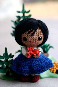 cute crocheted doll free pattern