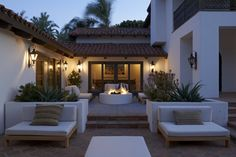 Spanish-Style Terrace | LuxeSource | Luxe Magazine - The Luxury Home Redefined