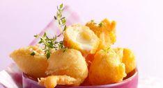 Beignets au comtéVoir la recette des Beignets au comté >> Snack Recipes, Snacks, Bread And Pastries, Potato Salad, Tapas, Chips, Menu, Vegetables, Ethnic Recipes