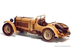 hand crafted classical car - beautiful. toys4mykids.com