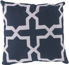 Find This Pin And More On Blue U0026 White. Handmade Indoor/outdoor Pillow ...