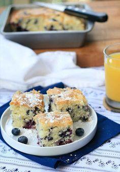 Gluten-Free Blueberry Buttermilk Breakfast Cake | 27 Delicious Gluten-Free Breakfast Pastries