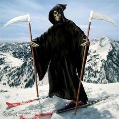 Der Tod auf Skiern   Dravens Tales from the Crypt - http://www.dravenstales.ch/der-tod-auf-skiern/