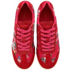 Gola x Cath Kidston Spray Flowers Trainers | Accessories | CathKidston