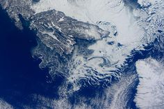 Fascinating ice patterns in the Cabot Strait last week. #FrozenEarth #Canada
