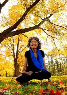 Beauty of Yoga   5. #Yoga knows no age limits.