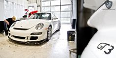 This Porsche GT3 is receiving our Signature Detail Package, which includes a 24-step hand wash, first stage paint correction, single stage polish, carnauba wax, wheel polish, and more! We recommend this service as an annual treatment for well-driven vehicles.