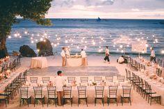 cool beach wedding reception best photos