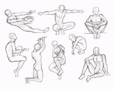 You can use these postures! But If you use this ref - put the link!!! on my DA or this art! Please. Thanks part01&part02&part04&part05: