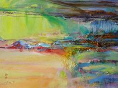 "Saatchi Art Artist Xiaoyang Galas; Painting, ""grateful heart"" #art"