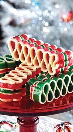 Christmas Sweets, Christmas Ribbon, Noel Christmas, Retro Christmas, Christmas Goodies, Christmas Candy, All Things Christmas, Father Christmas, Xmas