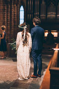 Vi gifte oss den 19 november 2016 i Helga trefaldighets kyrka i Uppsala. Kyrkan är byggd på 1200-talet och är tidlöst