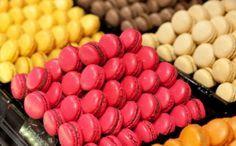 Receita de Recheios Coloridos para Macarons. Macaron com casquinha crocante, interior macio e com recheios especiais em harmonia com o colorido da massa, é tudo de bom! !