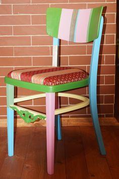 vintage chair- color