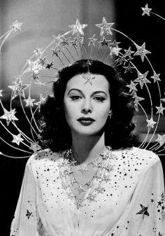 Hedy Lamarr in Ziegfeld Girl (1941) Costume design by Adrian  Image Source: Dr. Macro's