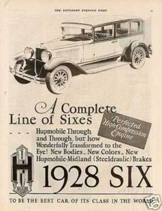 Hupmobile Six Car(1928)