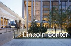 2 × 4: Project: Lincoln Center