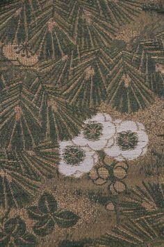 'Fuyu no Tomodachi' Obi Japanese Things, Sash, City Photo, Pattern, Beautiful, Color, Style, Swag, Patterns