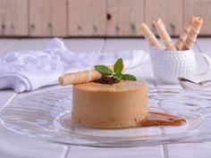 Receta | Mousse de dulce de leche con chips de chocolate - canalcocina.es