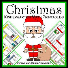 Christmas No Prep Common Core Math (kindergarten)