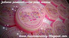 Custom soap for baby shower