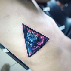 Tri Pl Gx  AB #tattoo #space #star #ab #tatuaje #galaxy #planet #geometria #geometrictattoo #nebulosa #adrianbascur