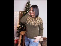"Як я в""яжу светри Лопапейса .Мої основні правила. - YouTube Knitwear, Turtle Neck, Knitting, Pattern, Sweaters, How To Wear, Clothes, Youtube, Videos"
